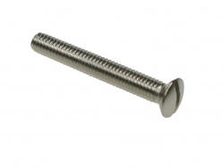 Slotted Raised Countersunk Machine Screws