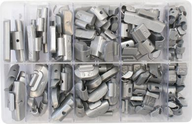 Assorted Wheel Weights 5-30g Steel And Alloy Wheels