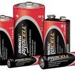 D Duracell Procell Batteries HP2 Qty2