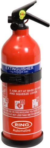 Ring fire extinguisher 1 kg dry powder