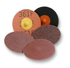 3M Roloc disc 25mm 36 grit 361F - 363F cloth discs qty 1