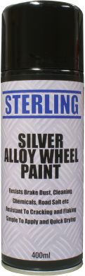 Silver  Wheels Spray 400ml Qty 1