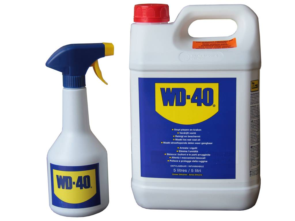 WD40 Multi Purpose Penetrating Fluid 5L + Spray Applicator