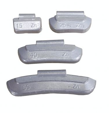 Zinc Wheel Weights for Steel Wheels 5g (100)