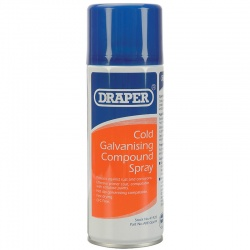 COLD GALVANISING COMPOUND SPRAY 400ML QTY 1