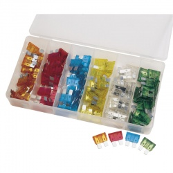 STANDARD PLUG-IN FUSE  ASSORTMENT 120 PCE QTY 1
