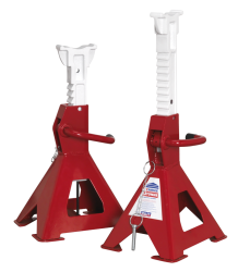 10 TONNE EASY ACTION RATCHET AXLE STANDS (PAIR) QTY 1