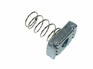 M10 LONG SPRING CHANNEL NUT GALV QTY 10