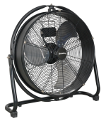 550MM  3-SPEED HI-VELOCITY DRUM FAN QTY 1