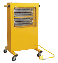 1.5/3KW INFRARED HALOGEN CABINET HEATER 110V QTY 1