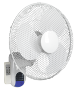 350MM 3-SPEED WALL FAN REMOTE CONTROL QTY 1