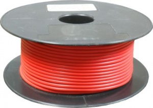 Automotive cable single core red 44/0.30 50 mtr roll