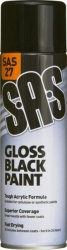 GLOSS BLACK PAINT 500ML QTY 1