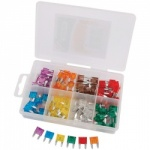 MINI PLUG-IN FUSE  ASSORTMENT 100 PCE QTY 1
