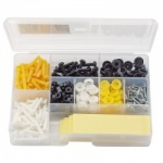 NUMBER PLATE FIXING KIT 272PCE QTY 1