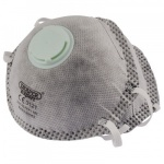 FFP1 CHARCOAL FILTER DUST MASKS PACK OF 2 QTY 1