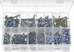 ASSORTMENT BOX OF  BA SLOT ROUND MACHINE SCREWS  1025PCE QTY 1