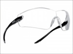 COBRA SAFETY GLASSES -CLEAR  QTY 1