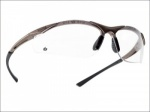 CONTOUR SAFETY GLASSES -CLEAR QTY 1