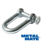 1/4''(6MM) D-SHACKLE  GALV QTY 10