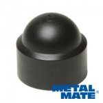 M6 PROTECTION DOME CAP (BLACK PLASTIC) QTY 10
