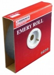 25MM X 120G BLUE EMERY ROLL 50M QTY 1
