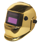 GOLD SEALEY WELDING HELMET AUTO DARKENING QTY 1