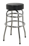 WORKSHOP STOOL WITH SWIVEL SEAT QTY 1