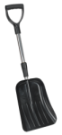 SNOW SHOVEL WITH TELESCOPIC HANDLE QTY 1