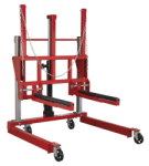 WHEEL REMOVAL TROLLEY ADJUSTABLE WIDTH 500KG QTY 1