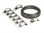 Self build hose clamp set JC972 3 mtr roll