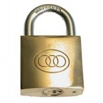 50mm Brass General Purpose Padlock (3 Keys)