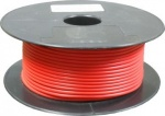 Automotive cable single core red 28/0.30 50 mtr roll