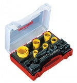 Starrett holesaw kit sizes 22mm to 64mm