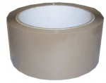 Parcel Tape Polypropylene brown 48mmx66m (25 Micron)