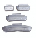 Zinc Wheel Weights for Steel Wheels 45g Qty 50